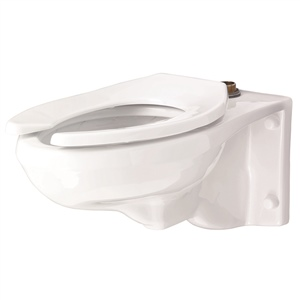 Gerber 25-033 - North Point™ Elongated 1.28 gpf (4.8 Lpf) Wall Hung Top Spud Bowl
