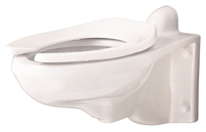 Gerber 25-038 - North Point™ Elongated 1.28 gpf (4.8 Lpf) Wall Hung Back Spud Bowl
