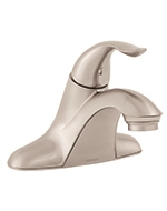 Gerber 0040068BN - Single Handle Lavatory Faucet Less Drain, Viper, Brushed Nickel