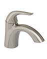 Gerber 0040079BN - Single Handle Lavatory Faucet Metal touch down, Viper, Brushed Nickel