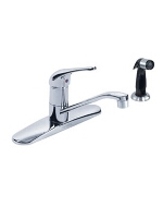 Gerber 0040112VPSS - MAXWELL 1H KITCHEN FAUCET W/SPRAY, VP AERATOR, Stainless Steel