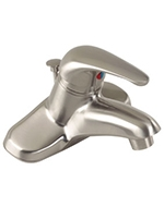 Gerber 0040144WBN - Maxwell SE Single Handle Lavatory, PPU, Brushed Nickel