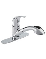 Gerber 0040165BR - Pull-Out Kitchen Faucet, Viper