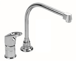 Gerber 40-200 Hardwater Single Handle Kitchen Faucet with Easy Filler™ 9x10 Hi-Rise spout, Chrome