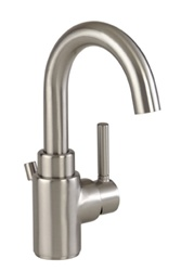 Gerber 40-325-BN - Wicker Park Single Handle 1 or 3 Hole Installation Lavatory Faucet, Brushed Nickel