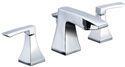Gerber 43-281 Logan Square™ Two Handle Widespread Lavatory Faucet, Chrome