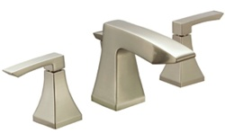 Gerber 43-281-BN Logan Square™ Two Handle Widespread Lavatory Faucet, Brushed Nickel Finish