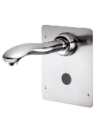 Gerber - ELECTRONIC SCRUB WALL MT 7-inch SPOUT AC W/O MIXER - CHROME