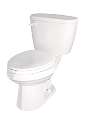 Gerber BX-21-412 - Complete Toilet package with Elongated Bowl, 12-inch Rough-In