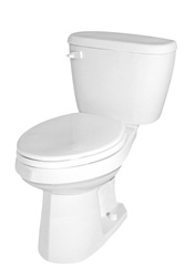 Gerber BX-21-418 - Complete Toilet Package with Elongated Bowl & Slim Line Tank - 12-inch Rough-In