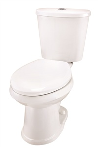 Gerber DF-21-110 Maxwell Dual Flush Elongated Two-Piece Toilet - 10-inch Rough-In