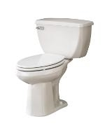 Gerber DF-21-310 Ultra Dual Flush 1.1 gpf Elongated Back Outlet Two-Piece Toilet