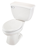 Gerber DF-21-312 Ultra Dual Flush Elongated Two-Piece Toilet - 12-inch Rough-In