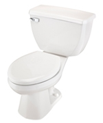 Gerber DF-21-314 Ultra Dual Flush 1.6 gpf Elongated Two-Piece Toilet - 14-inch Rough-In