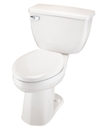 Gerber DF-21-318 Ultra Dual Flush ErgoHeight™ Elongated Two-Piece Toilet - 12-inch Rough-In