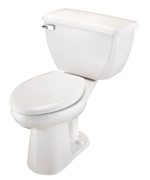 Gerber DF-21-319 Ultra Dual Flush ErgoHeight™ Elongated Two-Piece Toilet with Bedpan Lugs - 12-inch Rough-In