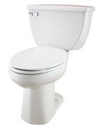 Gerber DF-21-324 Ultra Dual Flush 1.6 gpf Elongated™ ErgoHeight Two-Piece Toilet - 14-inch Rough-In