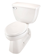 Gerber DF-21-325 Ultra Dual Flush 1.1 gpf ErgoHeight™ Elongated Back Outlet Two-Piece Toilet with Extended Height Rim