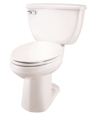 Gerber EF-21-318 Ultra Flush 1.1 gpf ErgoHeight™ Elongated Two-Piece Toilet - 12-inch Rough-In