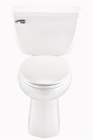 Gerber EF-21-325 Ultra Flush 1.1 gpf ErgoHeight™ Elongated Back Outlet Two-Piece Toilet