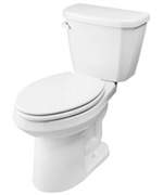 Gerber HE-21-517 Viper™ 1.28 gpf (4.8 Lpf) Elongated, ErgoHeight™ Two Piece Toilet, 10-inch Rough-In