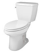Gerber HE-21-812 - Avalanche™ HET 1.28 gpf (4.8 Lpf) Elongated 2 Piece Toilet, 12-inch Rough-In