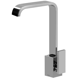 Graff G-2305-LM31-SN Immersion Single Lever Vessel Bowl Faucet, Steelnox Finish