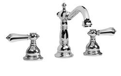 Graff G-2500-LM34 - Canterbury Widespread Lavatory Faucet with Metal Lever Handles