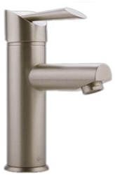 Graff G-2800-LM25-SN - Atria Single Handle Lavatory Faucet, Steelnox Finish