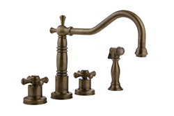 Graff - G-4220-C3-ABB - Pesaro Pesaro Kitchen Faucet with Side Spray