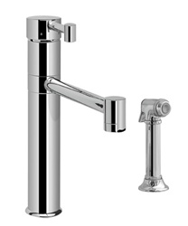 Graff - G-4505-LM28-BN - Camarro Camarro Kitchen Faucet with Side Spray