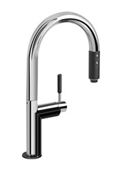 Graff - G-4852-PC/BK - Oscar Oscar Pull-Down Kitchen Faucet