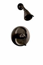Graff - G-7100-S1-ORB - Elegante Transitional Pressure Balancing Shower Set