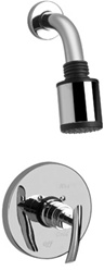 Graff - G-7120-LM24S-SN - Tranquility Contemporary Pressure Balancing Shower Set