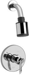 Graff - G-7120-LM25B-SN - Atria Contemporary Pressure Balancing Shower Set