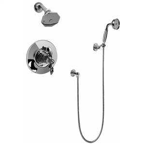 Graff G-7162-LM14 - Topaz Pressure Balancing Tub & Shower Set (Rough & Trim)