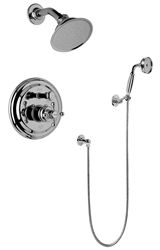 Graff G-7167 - Traditional Pressure Balancing Shower Set W/Handshower (Rough & Trim)