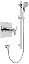 Graff G-7246 - Contemporary Pressure Balancing Shower Set w/Handshower (Rough & Trim)