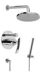 Graff G-7278 - Contemporary Pressure Balancing Shower Set w/Handshower (Rough & Trim)