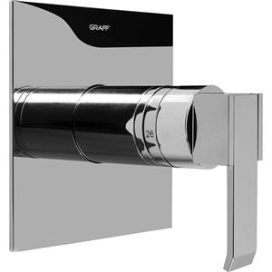 Graff G-8041-LM38S - Qubic SOLID Trim Plate with Handle