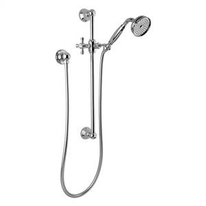 Graff - G-8600-C3S-PC - Tub & Shower Components Traditional Handshower with Wall-Mounted Slide Bar
