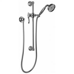 Graff - G-8600-LM20S-PC - Tub & Shower Components Traditional Handshower with Wall-Mounted Slide Bar