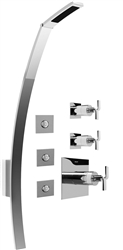 Graff GF3.100A - Luna Thermostatic Shower Set w/Body Sprays (Rough & Trim)