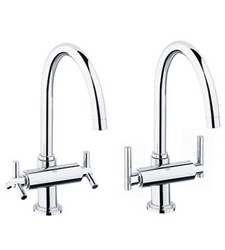 Grohe Atrio 31 001 High Profile Dual Handle Faucet - Replacement Parts
