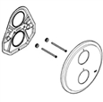 Grohe 47326000 - Atrio Thermostatic Shower Trim Escutcheon Plate