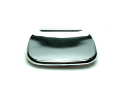 Hall Mack 822 - Wall mount chrome Soap Dish, 1-1/2-inch center mounting