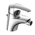 HANSAMIX Single handle Bidet Faucet with Pop-Up Waste