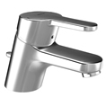 Hansa 0140 2273 0017 - HANSAPRADO Single Handle Bathroom Sink Faucet with Pop-Up Drain
