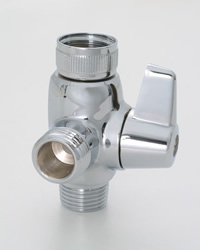 Jaclo 2004 2-Way Same Time Lever Diverter for Handshowers & Showerheads