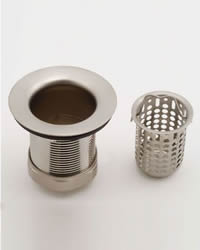 Jaclo 2826 Deep Cup Sink Strainer for 2-inch Drain Opening
